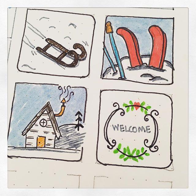 Doodle Challenge: Day 4-5 (Jan2016)