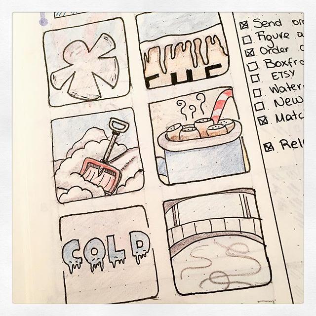 Doodle Challenge: Day 16-21 (Jan2016)