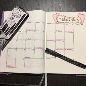 February 2017: Monthly Layout