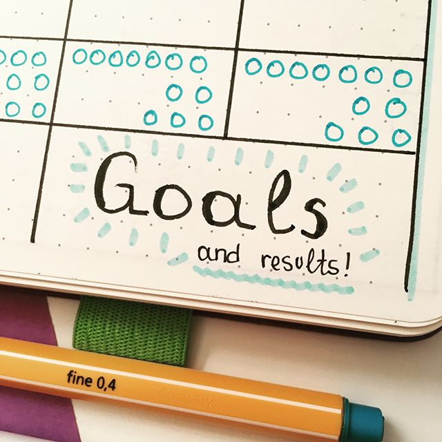 Bullet journaling: track your goals