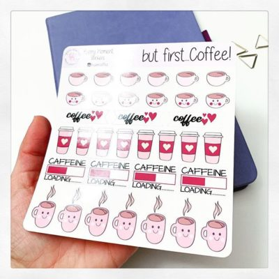 Bullet journal stickers: New releases