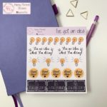 Bullet journaling stickers | Happymoment Etsy