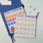 Easter stickers | Happymoment Etsy