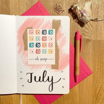 Plan with me: July 2019