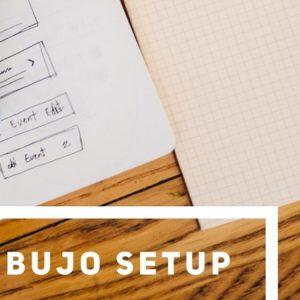 New bujo setup