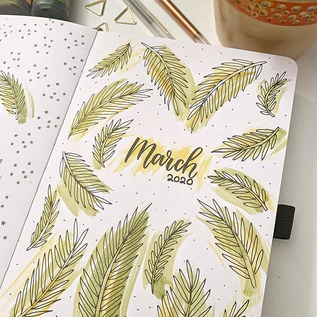 March 2020 in Doodle Planner